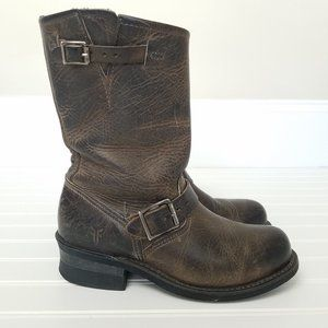 Frye Engineer Mid Calf Women's Boots Size 7M